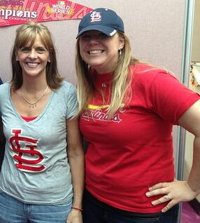 SpecialEyes Team members Staci and Joanna
