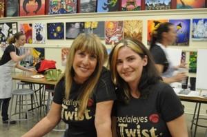 Cassie and Linda