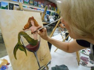 Mary, The Artist!