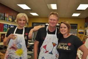 Mary, Scott, & Lindsay