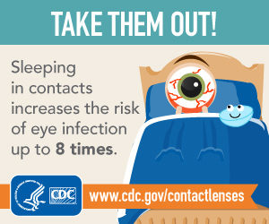 Contact Lens Care Fact